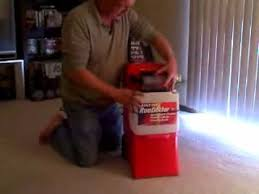 how to clean a carpet with a water extraction machine how to