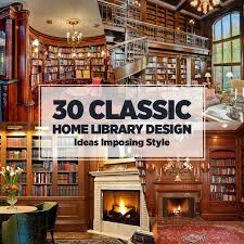 interior design courses home study 30 classic home library design ideas imposing style freshome