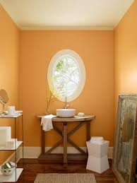 modern bathroom popular bathroom paint colors in orange color