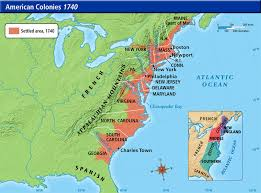 colonial america map ah03 americancols1740m jpg 865 640 colonial america