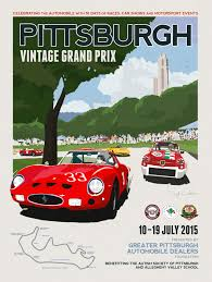 vintage alfa romeo race cars dwight knowlton creates a work of art with 2015 poster