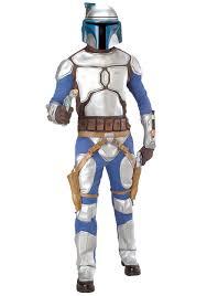 Jar Jar Binks Halloween Costume Deluxe Jango Fett Costume Star Wars Jango Fett Costumes