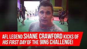 Challenge Shane Afl Legend Shane Kicks Of His Day Of The 9in6