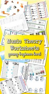 theory worksheet catalogue young beginner colourful keys