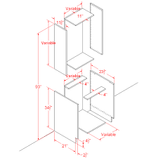 kitchen base cabinet plans free using basic polygon editing to create a base cabinet 3ds