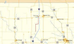 Iowa Map With Cities Iowa Highway 107 Wikipedia