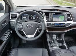 toyota highlander 2016 interior 2016 toyota highlander xle awd road test review carcostcanada