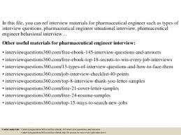 pharmaceutical engineer cover letter