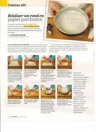 papier parchemin cuisine cuisine 101 réaliser un rond en papier parchemin frawsy