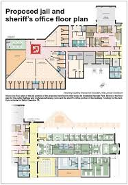 proposed jail and sheriff u0027s office floor plan the pagosa springs sun