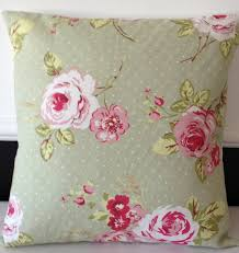 Cargo Furniture Cushion Covers 2 X Sage Green Pink U0026 Off White Floral Cushion Covers 18