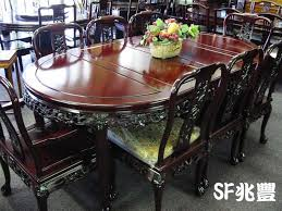 Rosewood Dining Room Set Solid Rosewood Furniture Dining Table Set Style