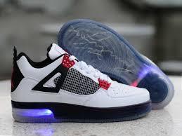light up shoes for sale air jordan 4 white black red light up shoes nike running shoes sale