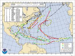 Mexico Hurricane Map by Noaa News Online Story 648