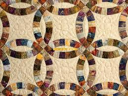 wedding ring quilt wedding ring quilt wonderful meticulously made amish
