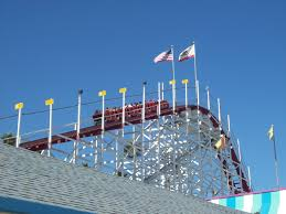 Santa Cruz Flag Roller Coaster By The Sea Snapshots And Sojourns