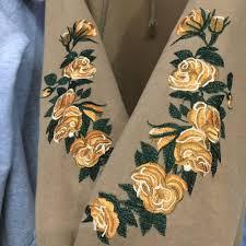 golden roses golden roses hoodie 3 colors kogiketsu