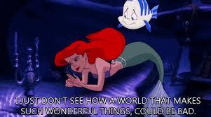 mermaid gifs ariel sebastian flounder ursula