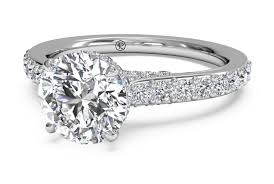 inside set band engagement ring mounting jessop jewelers - What Is An Engagement Ring