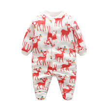 aliexpress buy newborn baby clothing boy footed rompers