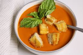 roasted tomato basil soup three hungry boys