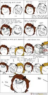 Derpina Meme - when your crush has a girlfriend funny meme comic
