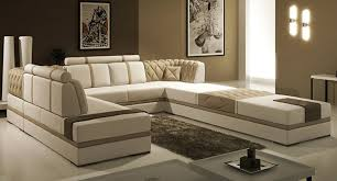 tosh furniture manhattan leather sectional sofa in taupe flap stores