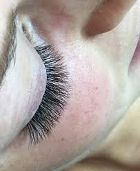 fluffy russian volume eyelash extensions eye lashes pinterest