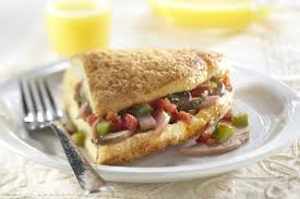puffy omelet with canadian bacon filling pork recipes pork be