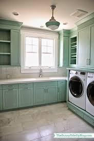 Premade Laundry Room Cabinets by White Wood September 2014