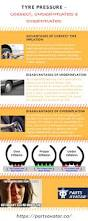 nissan qashqai tyre pressure infographic tire pressure correct under inflated or over