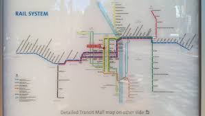 Portland Streetcar Map by New Official Map Trimet Max Light Rail Portland Transit Maps