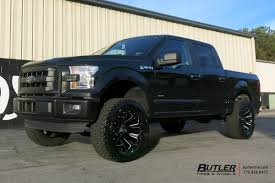 Ford F150 Truck Tires - ford f150 with 20in fuel assault wheels exclusively from butler