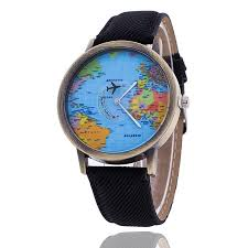 travel watch images World travel airplane women watch chendras jpg