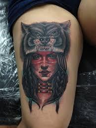 tattoo eagle girl native american woman tattoo eagle girl and wolf native american