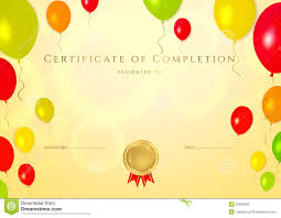 certificate template for kids certificate template for kids free