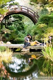 Golden Gate Botanical Garden Japanese Tea Garden Engagement Japanese Tea Garden
