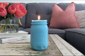 10 lovely ways to include mason jars in your home decor hometalk mold a pretty candle for the coffee table