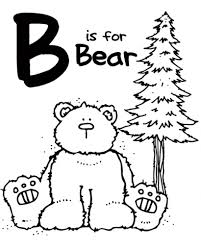 bear coloring pages preschool invigorate coloring