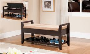 storage bench with cushion photos home decorations insight