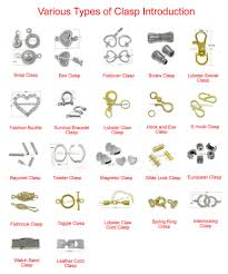 clasps necklace types images Various types of clasp introductionfree diy jewelry projects jpg