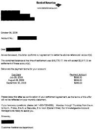 my settlements sample debt settlement letters leave debt behind