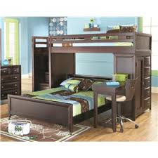 canyon ivy league twin full loft bed with desk