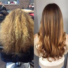 wash hair after balayage highlights how to frizzy and brassy hair transformed with balayage highlights