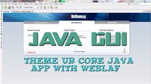themes of java java gui theme your core java application change the look and