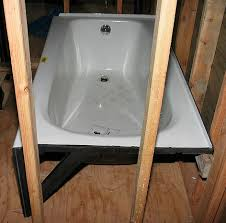 Alcove Bathtub Installing A Bathtub Plumbing Help