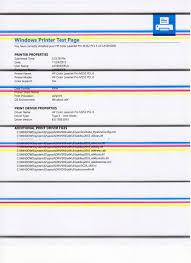 color laser test page page with color laser test page awesome hp