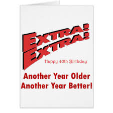 40th birthday ideas greeting cards zazzle