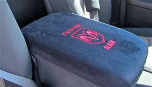 dodge ram center console cover center console cover embroidered dodge ram by crazycoversusacom