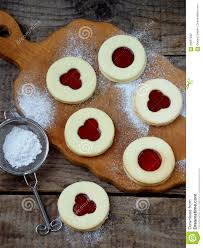 traditional homemade christmas cookies linzer biscuits filled
